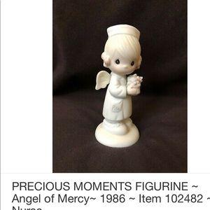 Vintage precious moments porcelain nurse
